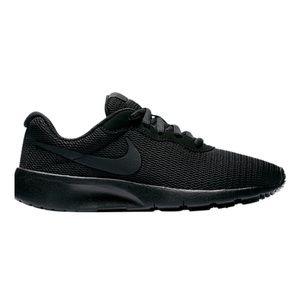kids Nike Tanjun Grade School Shoes - Black